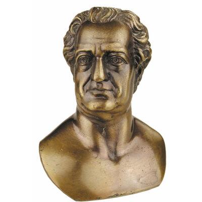 Goethe kis mellszobor