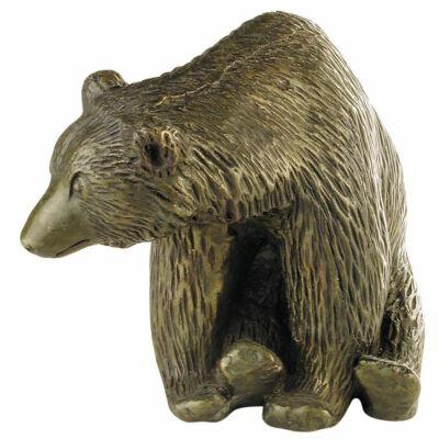 Medve, ülő, nagy