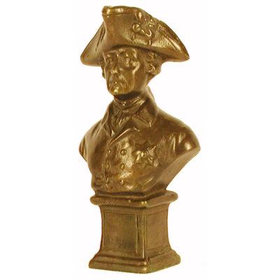 Francia tábornok, mellszobrocska